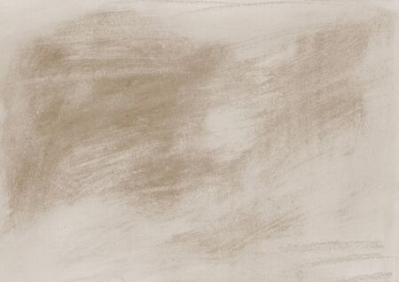 Aquarelle abstract background, textured surface. Soft coffee and milk colour, hand drawn