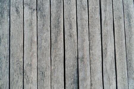 gray wooden natural plank background, texture of wooden board