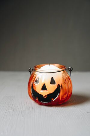 set of halloween items, layout for the holiday halloween Фото со стока - 133783110