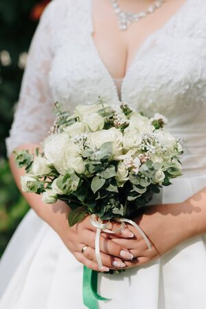 beautiful bridal bouquet of flowers for a wedding