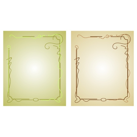 Decorative framework with an ornament Stock Vector - 13544680