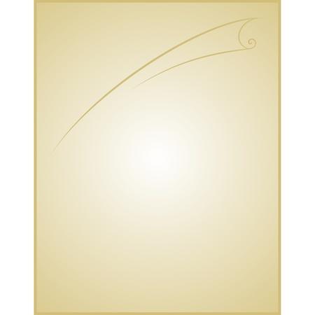 vellum: old blank paper script  Paper background  Illustration