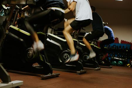 Cycling class. Fat Burning Workout
