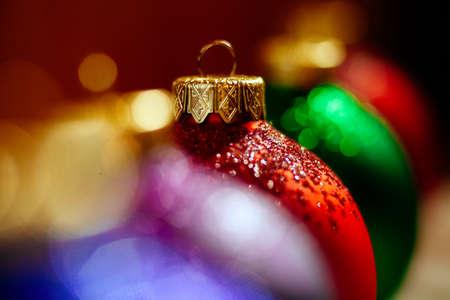 christmas balls ornament decoration Stock Photo