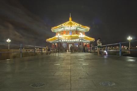 trestle: Trestle at Qingdao Stock Photo