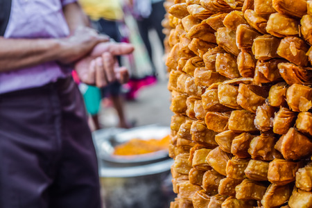 Khaja Snacks,Layered Fritters Dunked In Sugar Syrup, for sale in shop
