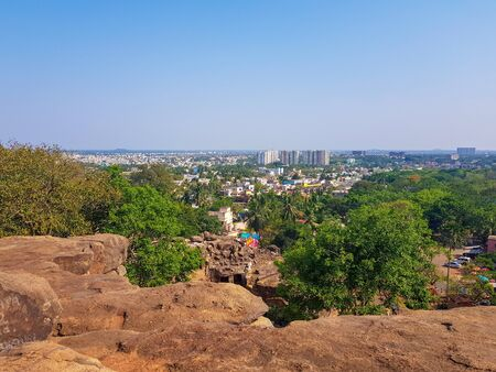 Udayagiri and Khandagiri Caves, formerly called Kattaka Caves or Cuttack caves, are partly natural and partly artificial caves of archaeological, historical and religious importance near the city of Bhubaneswar in Odisha, India