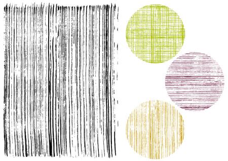 Japanese pattern written with brush
