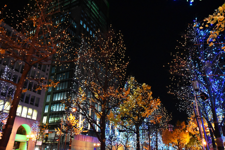 Événement d'illumination nocturne de Midosuji