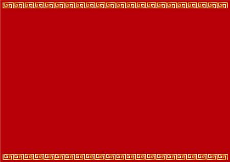 Frame material of Chinese image