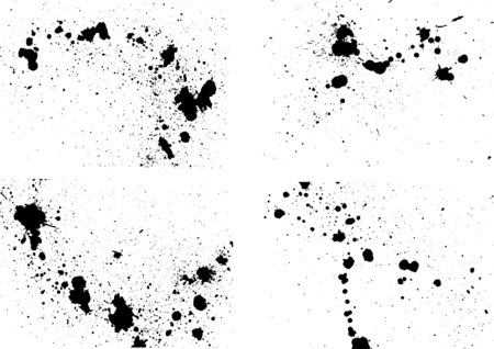 Image of ink splash written with ink