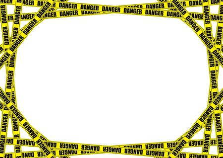 No trespassing sign tape background material