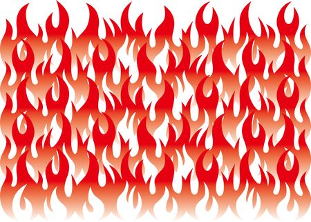 Fire image vector background material