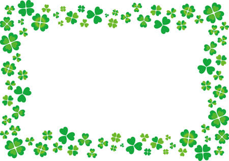 Clover vector illustration background material