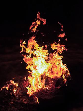 erupt: Blazing fire