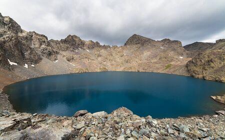 kackar: Lake on a plateau on Kackar Mountains in the Black Sea Region, Turkey. Stock Photo