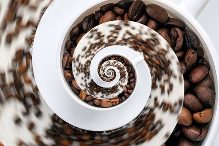 delusion: Abstract Caffeine Addiction Droste Effect