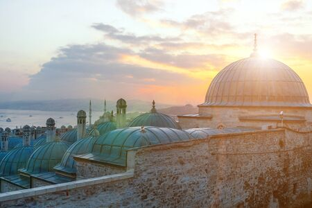 View to the Golden Horn, Istanbul, Turkey
