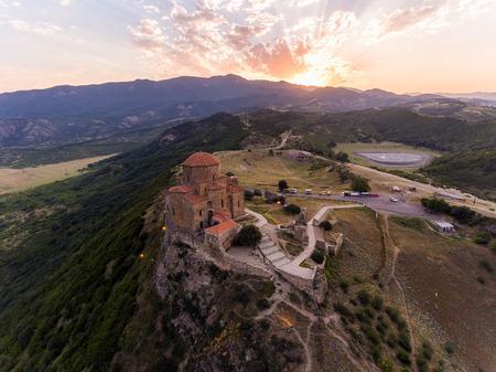 Jvary monastery near Mtskheta, Georgia. Stok Fotoğraf