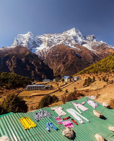 Namche Bazaar, Himalaya, Nepal