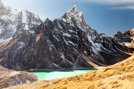 mountains in Himalayas, Nepal,
