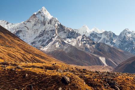 Ama Dablam, Everest region, Himalaya, Nepal