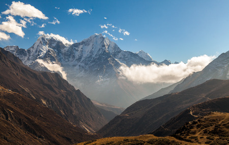 mountains in Himalayas, Nepal.
