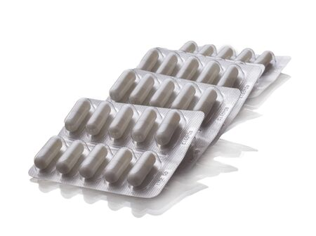 medicine tablet antibiotic pills Stockfoto