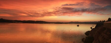 ocea: sunset scenery