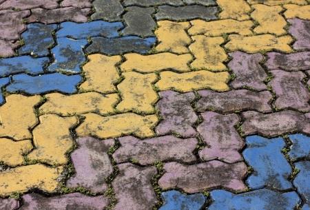 sidewalks: Concrete paved sidewalks  Colorful