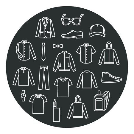 men's clothing: Mens Clothing icons