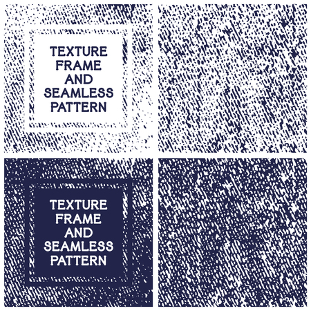 endless: Handcrafted texture frame and endless background