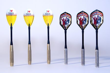 darts flying: Darts