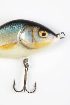 rapala: Fishing lures isolated on white