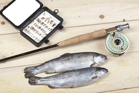 Fly fishing Stock Photo - 5787832