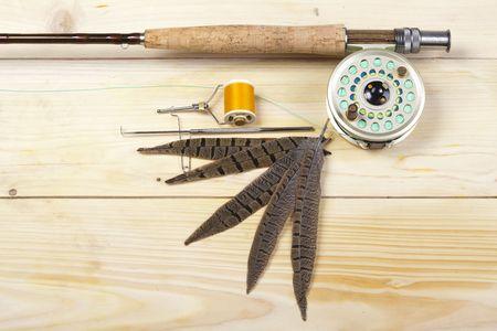 Fly fishing Stock Photo - 5787829
