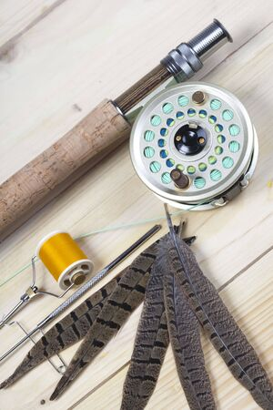Fly fishing Stock Photo - 5787830