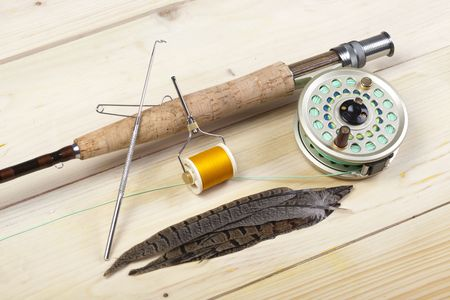 Fly fishing Stock Photo - 5787837
