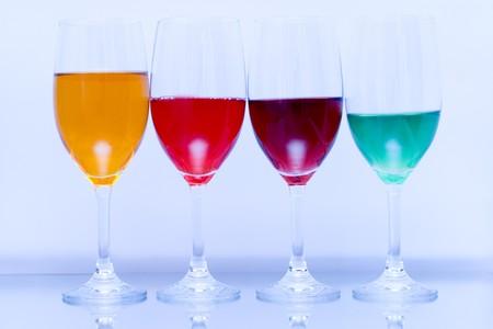 Colored glasses photo