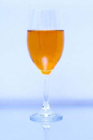Colored glass photo