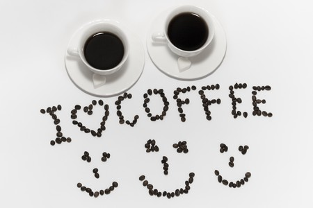 coffee hour: Coffeee Stock Photo