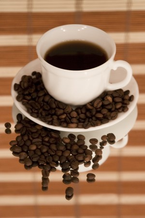 coffee hour: Fun with coffee beans