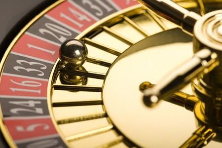 roulette casino: Close-up de ruleta