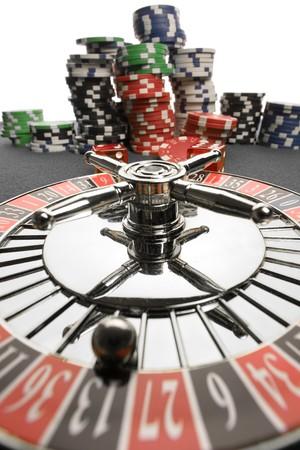 roulett: Close-up der Roulette