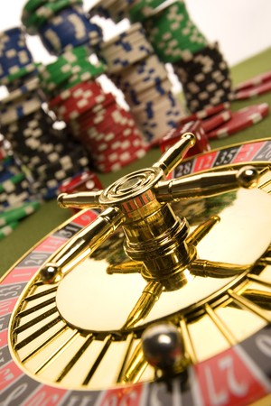 Close-up of Roulette  Stock Photo