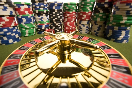 Close-up of Roulette  Stock Photo - 8018718