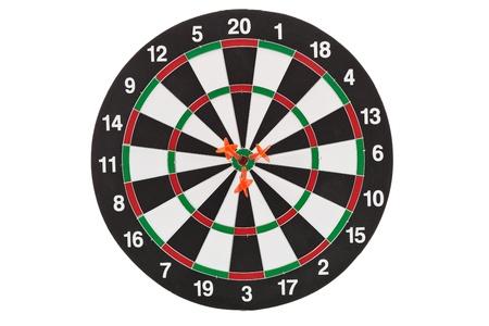 Red darts photo