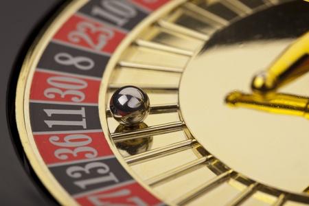 ruleta de casino: Close-up de la ruleta
