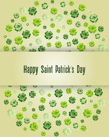 feast of saint patrick: Happy Saint Patrick s Day Illustration