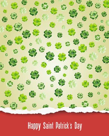 saint patrick��s day: Happy Saint Patrick s Day Illustration